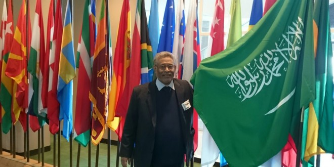 His Excellency Mr. Ibrahim bin Abdullah Al Khuzayem, Executive Director, New York